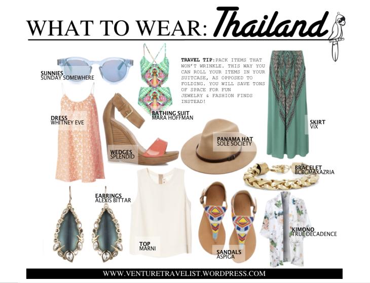 what to wear thailand