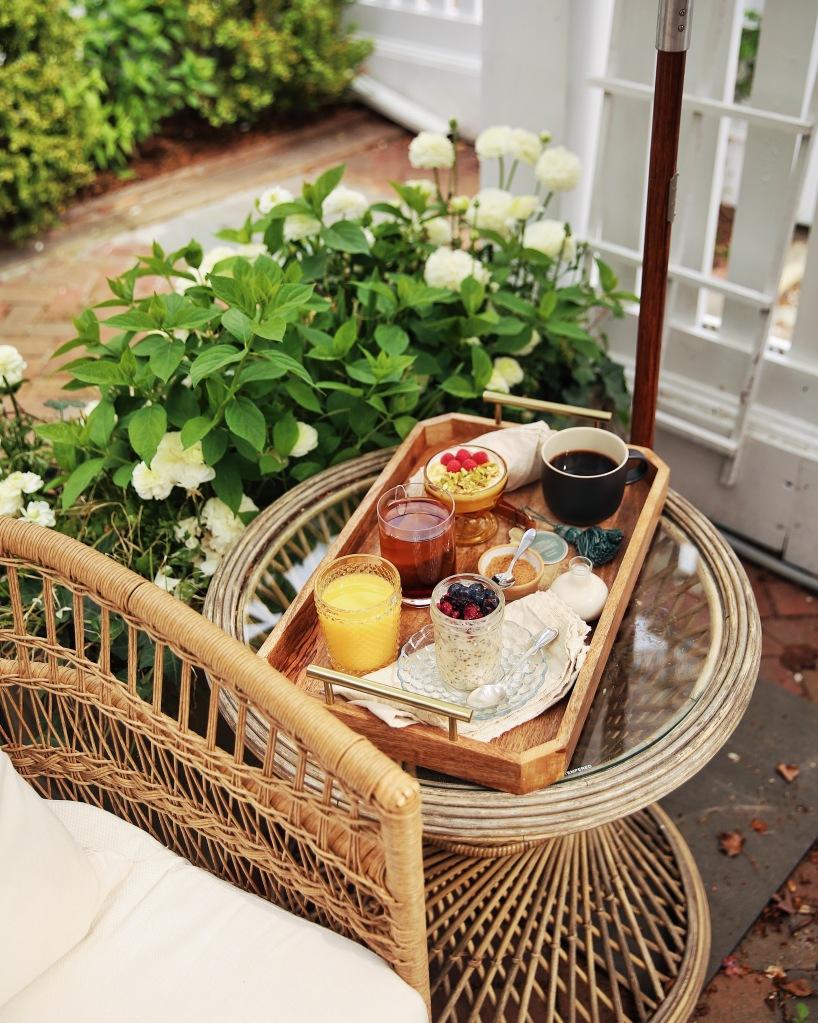 Breakfast at Life House Hotel Nantucket
